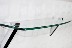 Glass Shelf, Chrome Finished - BA-A7090 CH
