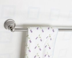 Bathroom, Chrome Towel Bars
